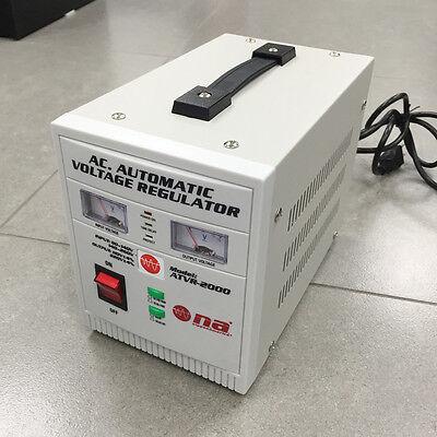 New Nippon America Ac Automatic Voltage Regulator Atvr-2000  2000 Watts