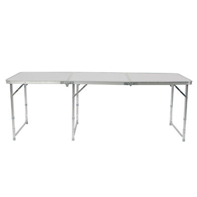 Indoor Camping Party (6FT Folding Table Aluminium Alloy Indoor Outdoor Picnic Party Camping)