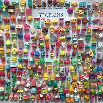 SHOPKINS SAISON 1-2-3-4-5-6-7-8 Action Figures Random 100pcs enfants jouet 3-6cm