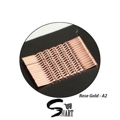 Women Essentials Bobby Pins Hairpin Hair Clips Cute Accessories Rose Gold Silver ()