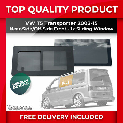 Left passenger side convex mirror glass VW Transporter T4 Van 1990-2003 48LS