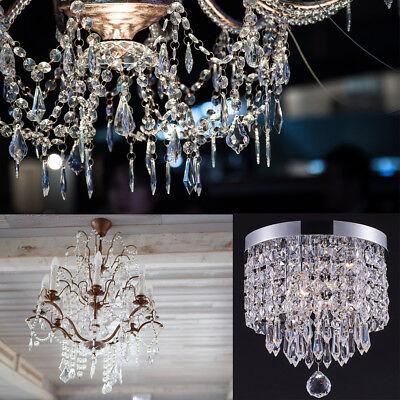 30X Acrylic Crystal Bead Hanging Wedding Chandelier Centerpiece Decoration WV220 - Chandelier Decoration
