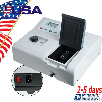 Visible Uv Spectrophotometer 721 Ldc Digital Spectrophotometer 350-1020nm 110v