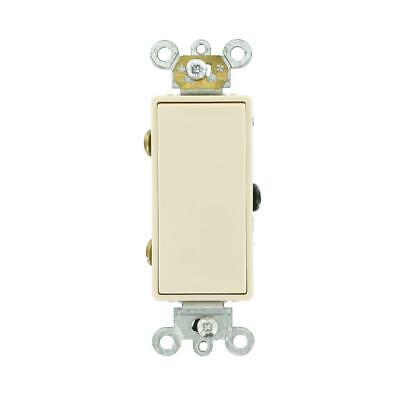 Leviton Decora Plus 20 Amp 3-Way Switch, Light Almond (20 Amp Decora)