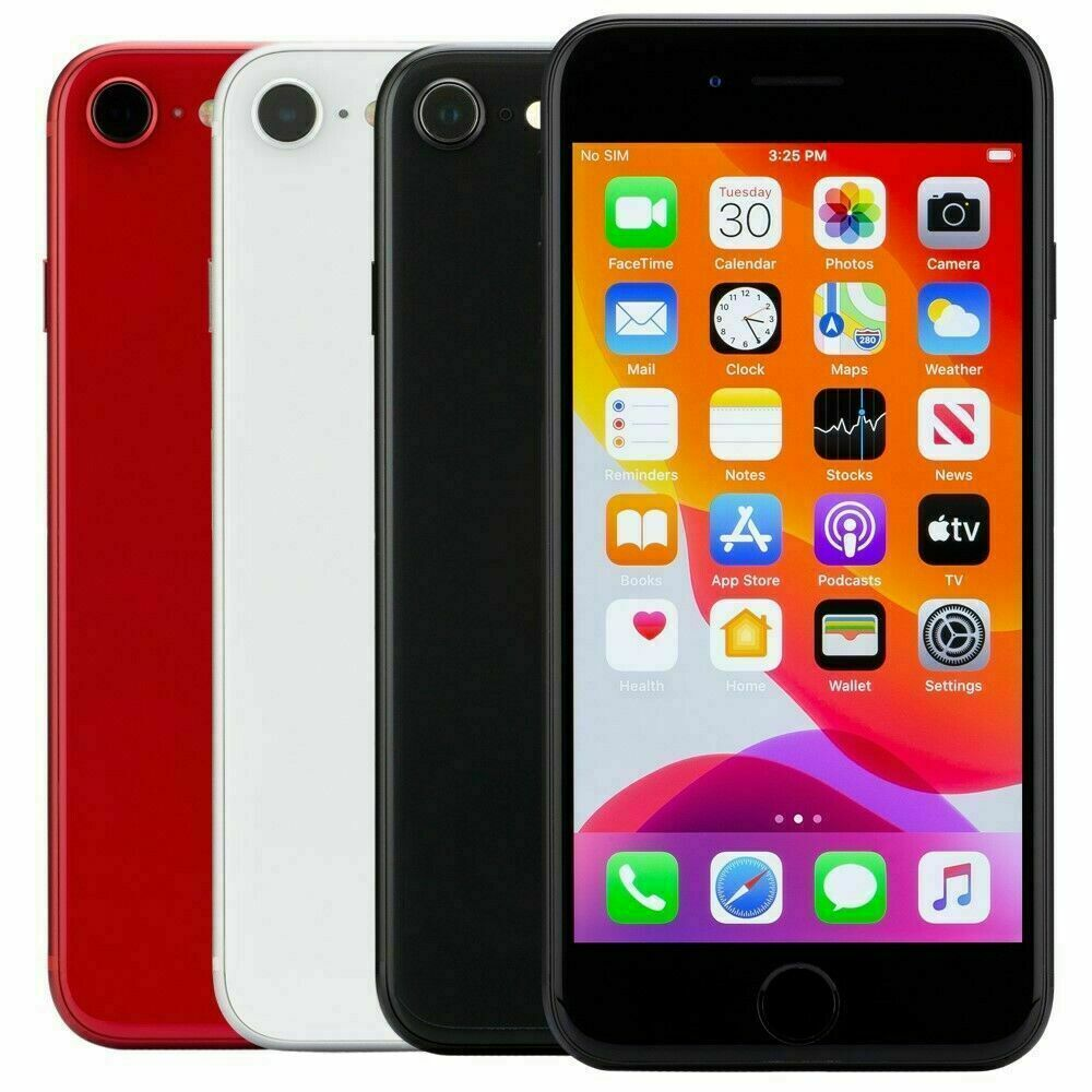Apple iPhone SE 2020 2nd-Gen 64GB 128GB 256GB Factory Unlocked Smartphone