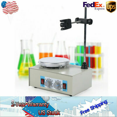 Magnetic Heater Stirrer Mixer Stirring Laboratory Adjustable Speed Temperature