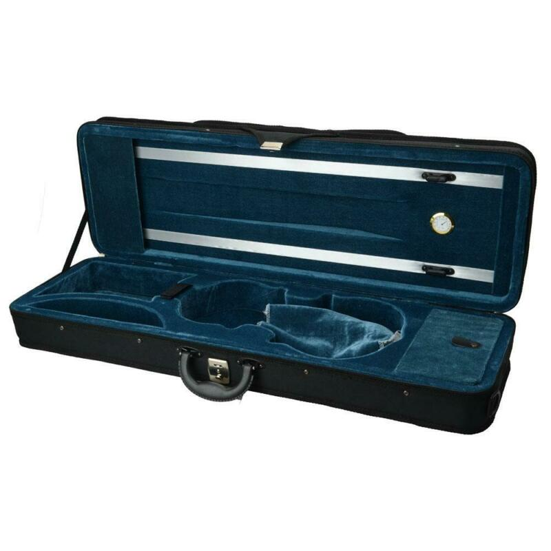 4/4 Professional Black Square Nylon Material Violin Fiddle Case High Quality