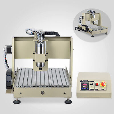Us 800w Vfd Engraver 4 Axis Cnc Router Kit 3040 Drilling Milling Machine Int