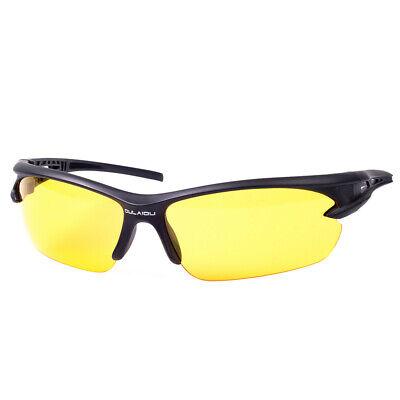 Sonnenbrillen Verspiegelt UV Radbrille Sportbrille Nachtsicht Sunglasses