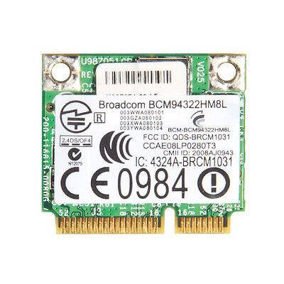 Mini PCIE adapter for BCM94360CD BCM94311CM