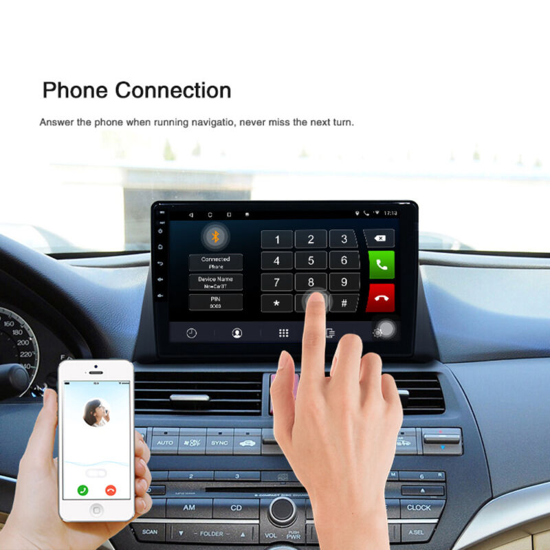 """10.1"""" For Honda Accord 08-13 Android 9.1 Car Stereo Radio Player Wifi GPS Player"""