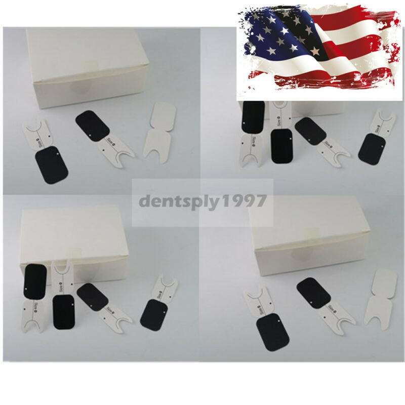 2000pcs Dental Size 0 Phosphor Plates Paper For Carton Protective Cover USA