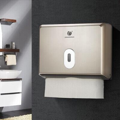 Bathroom Home Toilet Heavy Duty Hand Paper Towel Dispenser Holder C Fold