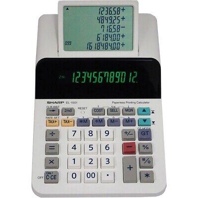 Sharp  Printing Calculator EL1501 EL1501  - 1 Each