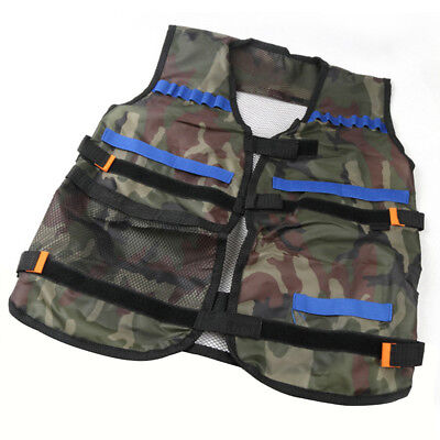 Children Tactical Vest Kids Thin Jacket Tactical For Nerf N-