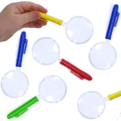 -6 x Lupe | Detektiv | Kindergeburtstag | Vergrößerungsglas (Lupe, Detektiv)