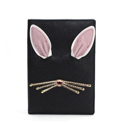 Kate Spade New York Rabbit Passport Case Holder Hop To It Imogene Black NWT