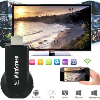 NEW WiFi Display receiver Mirascreen mirror phone TV HDMI Dongle