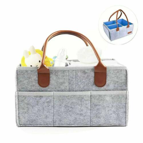 Portable Baby Diaper Caddy Nursery Storage Bin Baby Shower Gift Diaper Tote