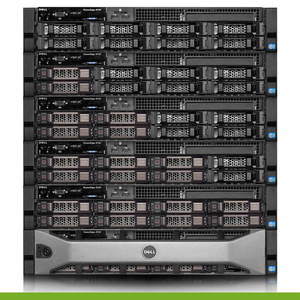 Dell PowerEdge R720 SFF Server2x E5-2620 2.0GHz 12 Cores16GB RAMH310