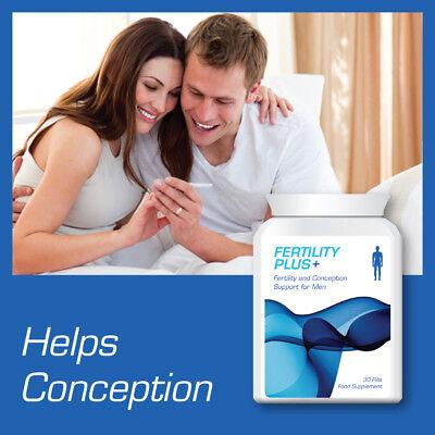 FERTILITY PLUS MENS FERTILITY & CONCEPTION SUPPORT PILLS FOR MEN CONCEIVE BABY