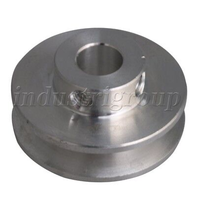 0.8cm Fixed Single Bore V-groove Pulley Wheel For Motor Shaft 0.3-0.5cm Pu Belt