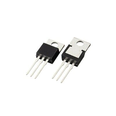 10pcs Vishay Irf520 N-channel Power Mosfet Fast Switching To220 - New
