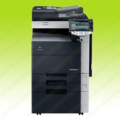 Konica Minolta Bizhub 652 Mono Laser Multifunction Printer Copier Scanner 65ppm