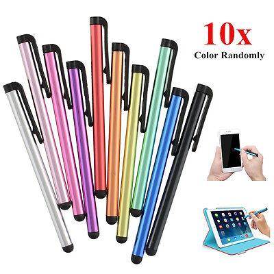 10x Stylus Touchpen Eingabestift Metall Für Tablet iPhone 7 6S iPad iPod Samsung