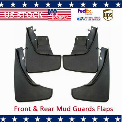 Mud Guards Flaps for 2011-17 Jeep Grand Cherokee Limited Front & Rear OEM Pairs