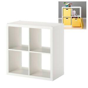 Ikea kallax estanter a blanca libreria estanteria 77x77cm for Mueble estanteria ikea