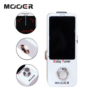 Mooer Guitar Effects Pedal Baby Tuner High Precision Tuning Pedals MTU1