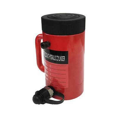 30 Ton 4 Stroke Hydraulic Cylinder Lifting Jack Ram 8 Closed Height Lock Nut