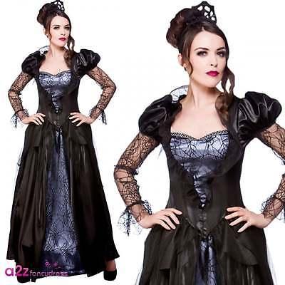 Bösen Königin Damen-erwachsenes Halloween-Kostüm Gothic Hexe Zauberin ()