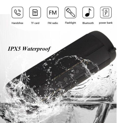 Waterproof Wireless Bluetooth Speaker Super Bass USB/TF/FM Radio Audio Portable