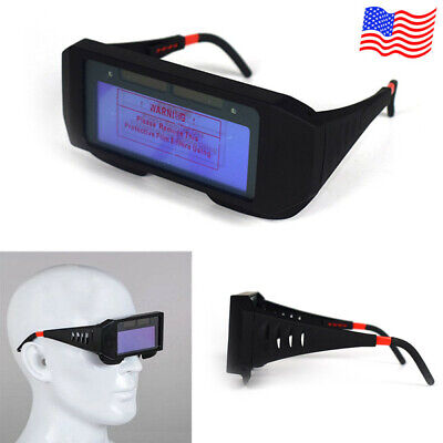 Solar Power Auto Darkening Welding Helmet Eyes Goggle Welder Glasses Protector