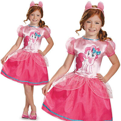 GIRLS PINKIE PIE CLASSIC COSTUME MY LITTLE PONY CHILDS KIDS FANCY DRESS OUTFIT ()