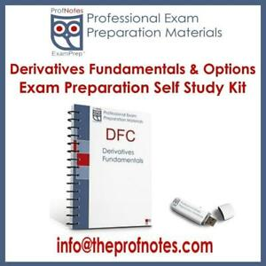 DFC & DFOL Derivatives Fundamentals & Options Licensing Textbooks, Kit for CSI Canadian Securities Institute Exams