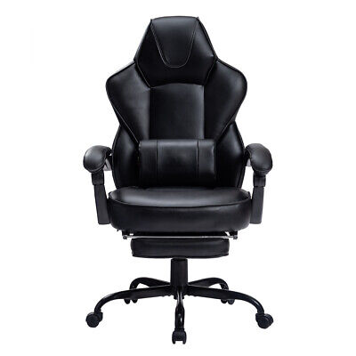 Gaming Chair Racing Recliner Office Computer Desk High-back Seat Swivel Black Us