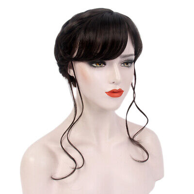 Courts Bride Halloween (Braid Princess Court Wig for Women with Bangs Bride Hair Halloween Cosplay)