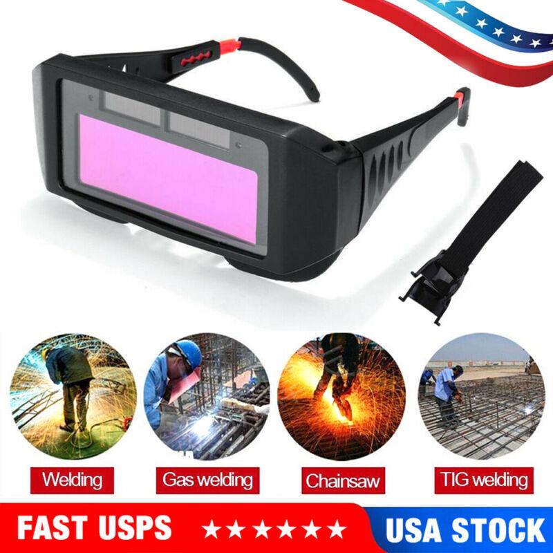US Solar Auto Darkening Welding Helmet Glasses Mask Grinding Eyes TIG MIG Goggle