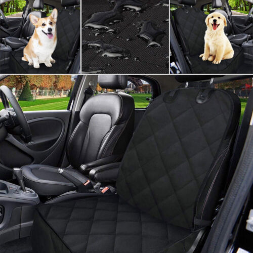 Pet Cushion Car Front Seat Cover Dog Rubber Protector Mat