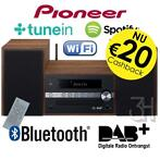 Pioneer stereoset DAB+ digitale radio CD USB Spotify wifi