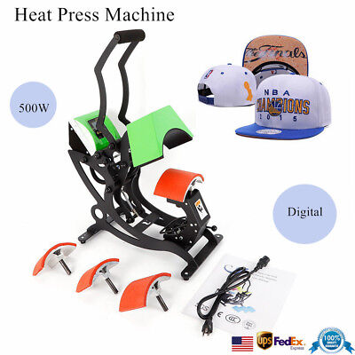 500w Digital Hat Heat Press Machine Sublimation Transfer Machine Hat Cap Printer
