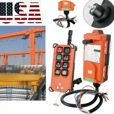 24v Industry Hoist Crane Radio Wireless Remote Control Transmitter Receive East