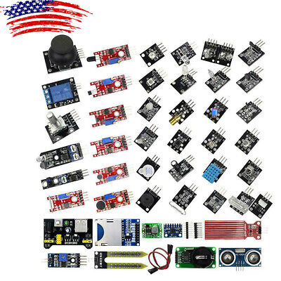 45 In 1 Sensor Module Starter Set Kit For Arduino Raspberry Pi Education