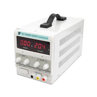 30v 10a5a Adjustable Dc Power Supply Dual Digital Lab Test 110v 60hz220v 50hz
