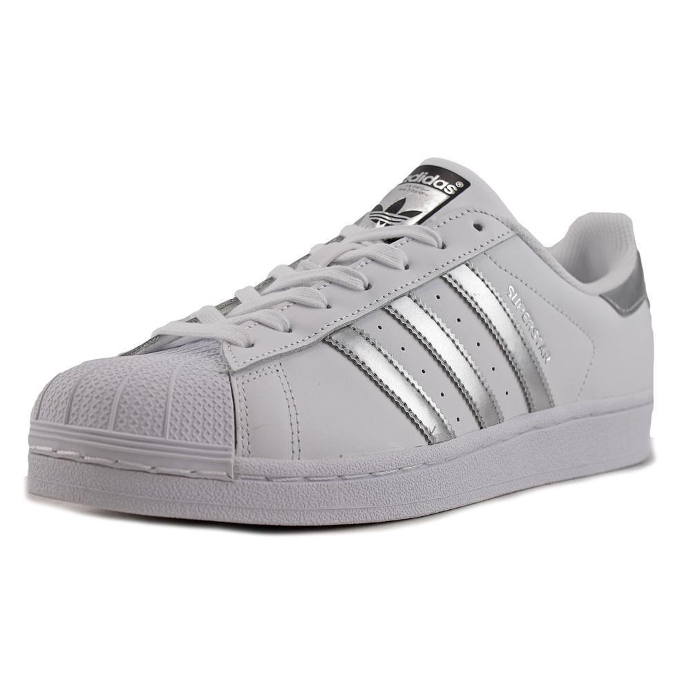 f5f8e4c3751a ... sale buy adidas superstar womens aq3091 white silver metallic leather  800f2 8da57