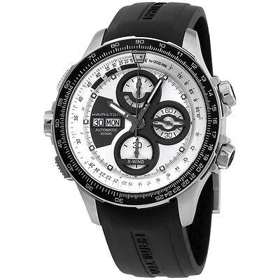Hamilton Silver Dial Black Silicone Strap Men's Watch H77726351