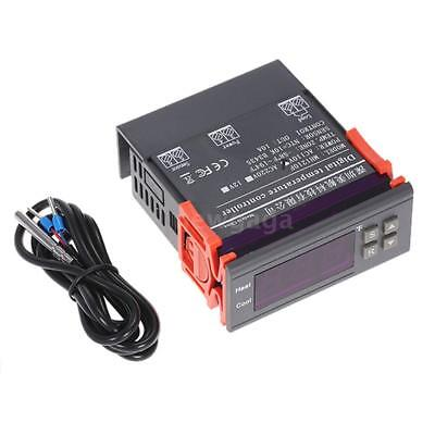 10a 110v Digital Temperature Controller Temp Sensor Thermostat Control -58194f